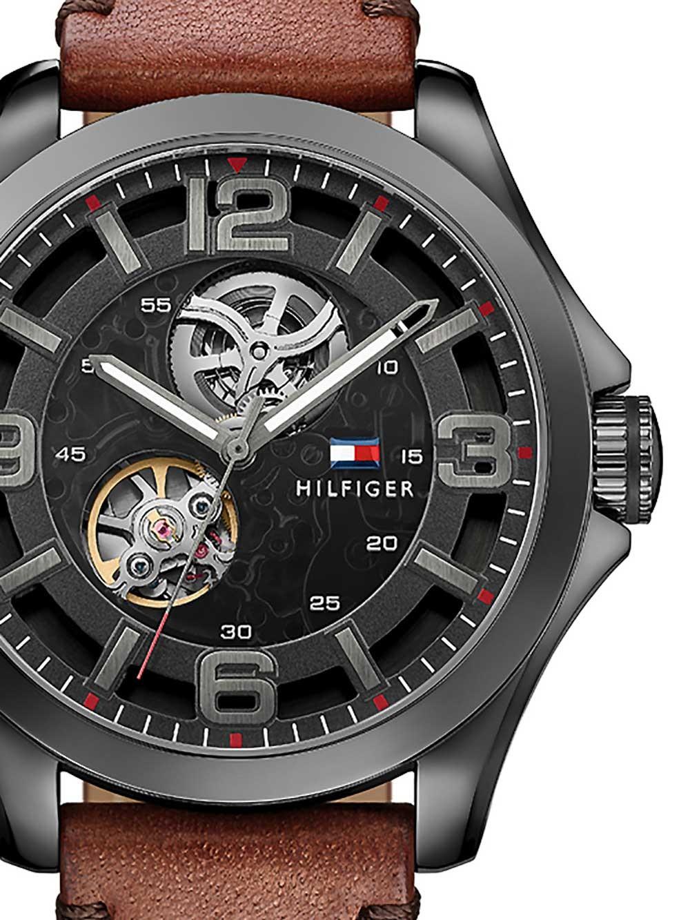 watches chrono12 tommy hilfiger 1791280 automatik. Black Bedroom Furniture Sets. Home Design Ideas