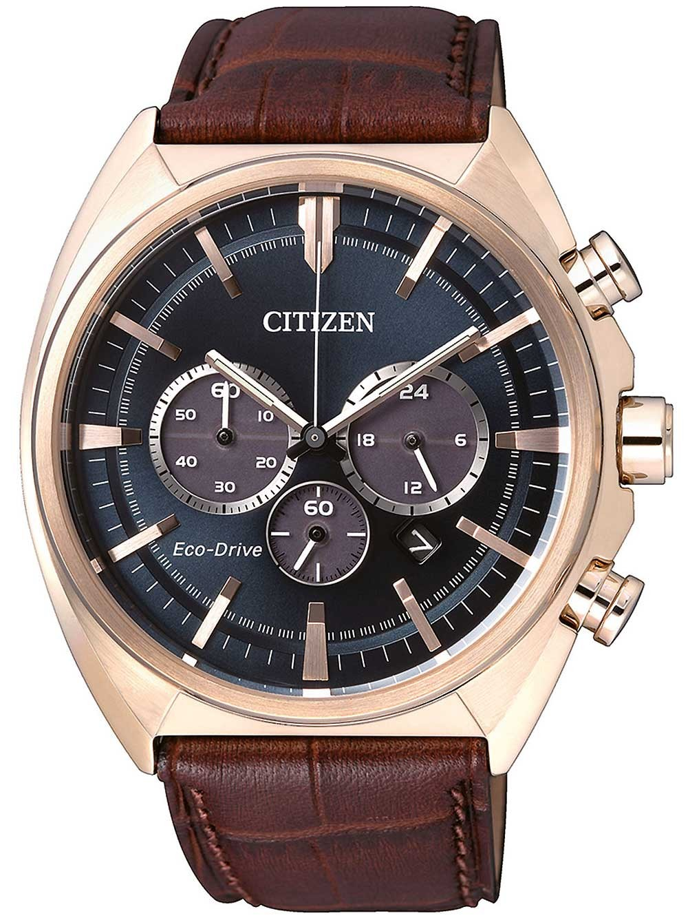 ceas barbatesc citizen ca4283-04l elegant-chrono eco-drive 45mm 10atm
