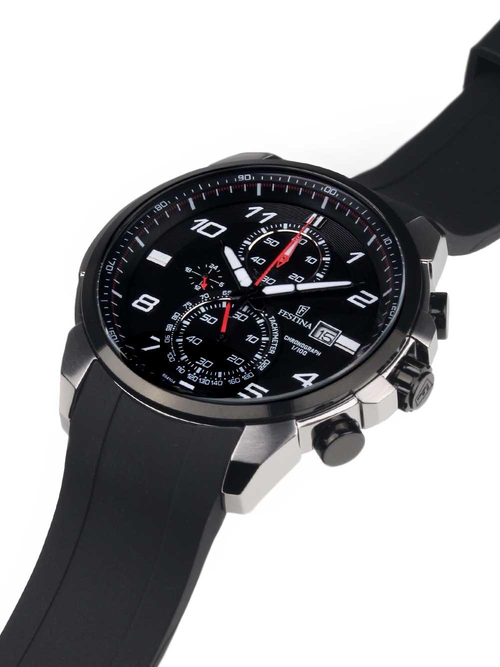 watches chrono12 festina f6841 4 chronograph herren. Black Bedroom Furniture Sets. Home Design Ideas