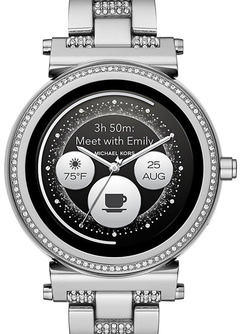 ceas de dama michael kors mkt5036 sofie access smartwatch 42mm 5atm
