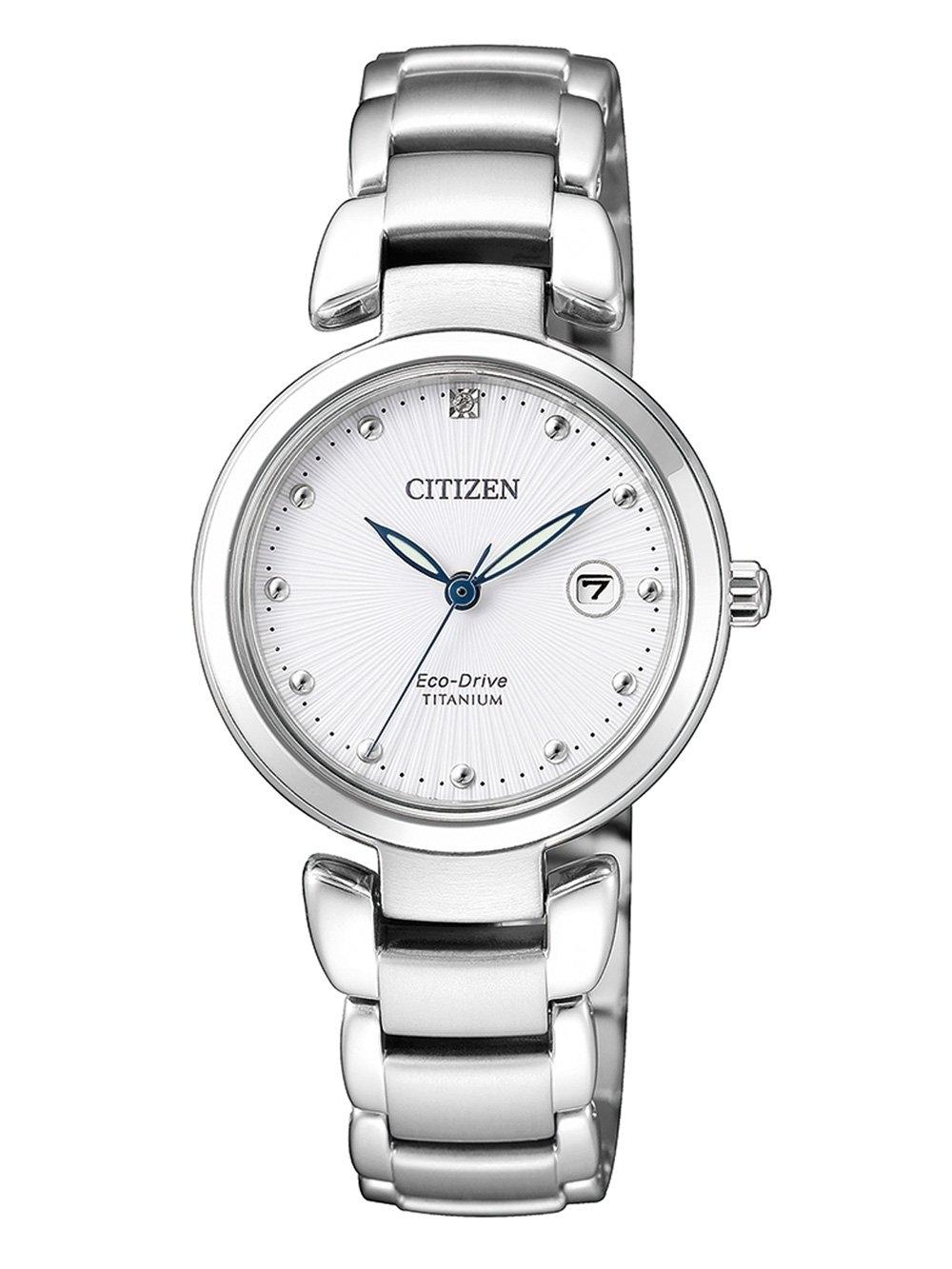 ceas de dama citizen ew2500-88a titan 29mm 5atm
