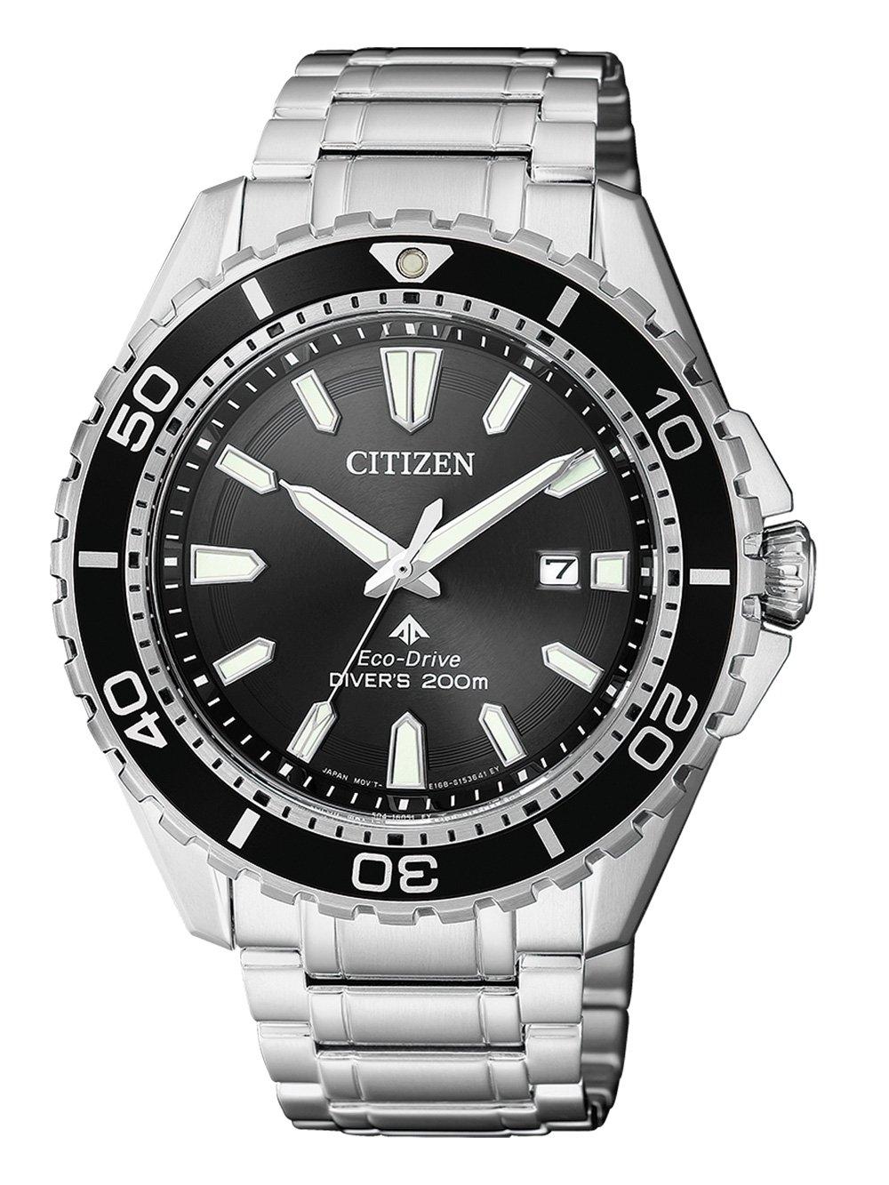 ceas barbatesc citizen bn0190-82e promaster diver 44mm 20atm