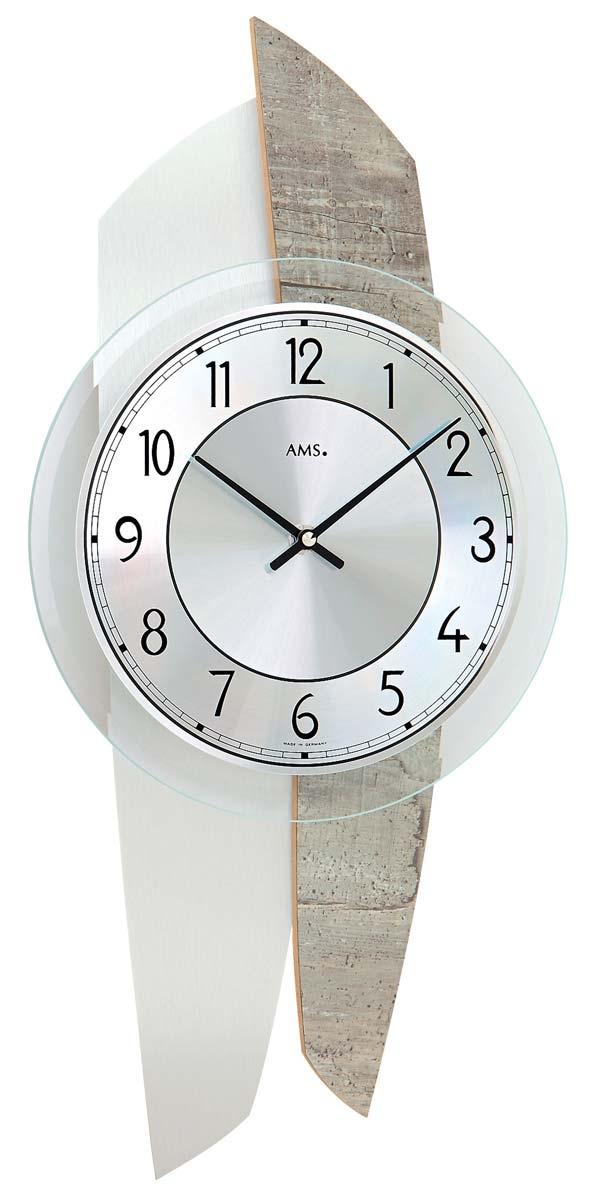 ceas de perete ams 9498