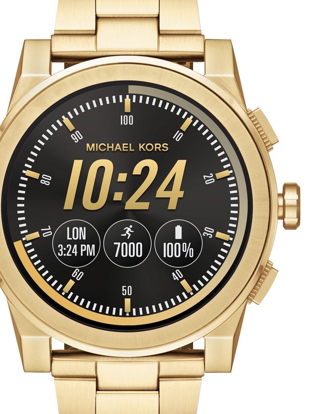 ceas barbatesc michael kors mkt5026 grayson access smartwatch 47mm 3atm