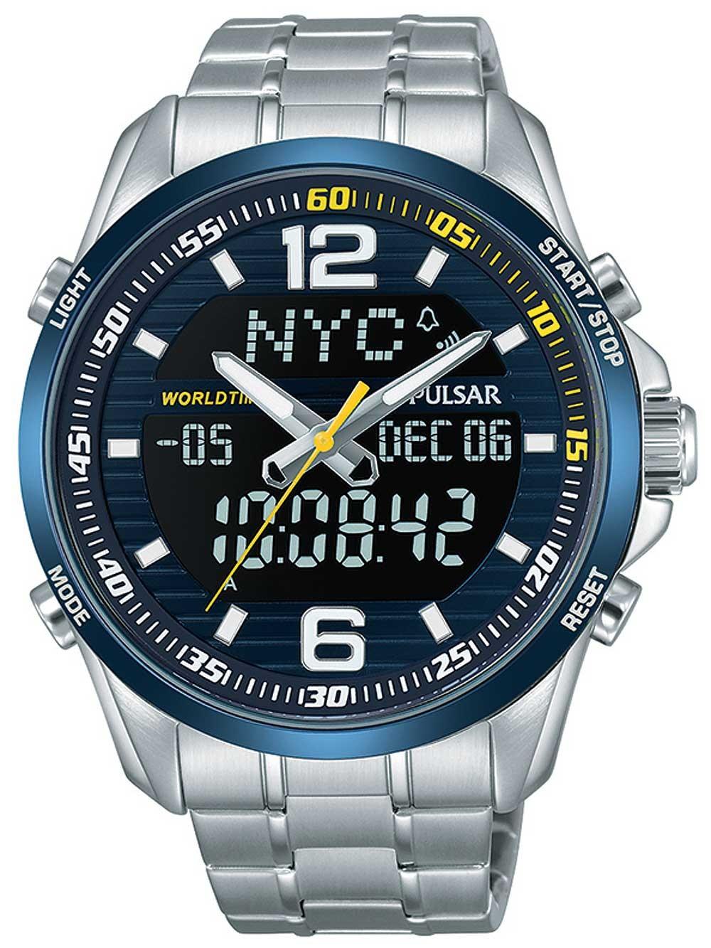 Ceas barbatesc Pulsar PZ4003X1 Chronograph 44 10ATM