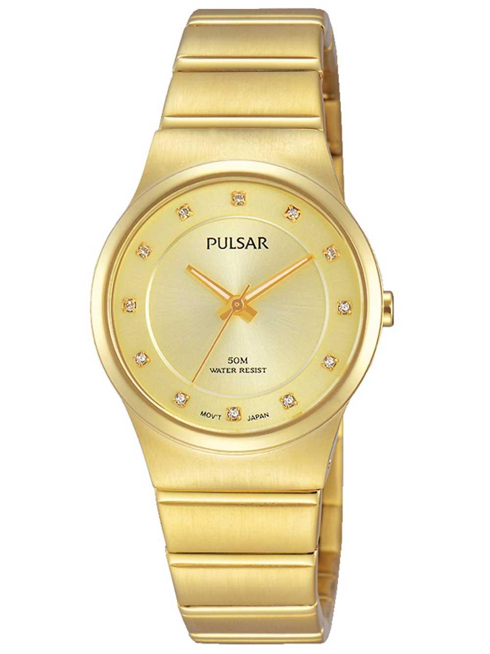 ceas de dama pulsar ph8170x1 28mm 5atm