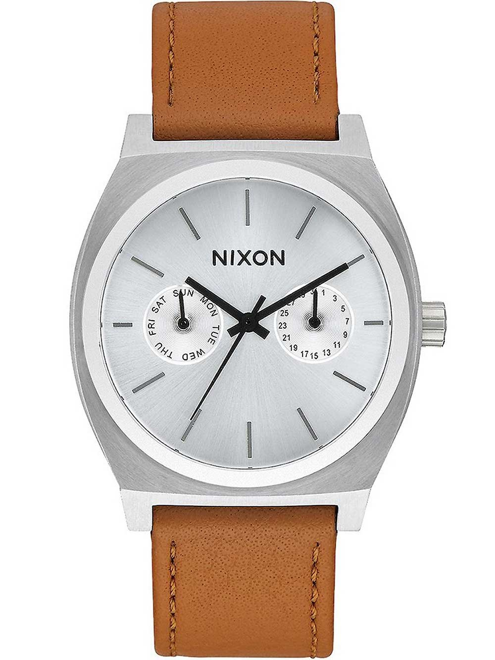 ceas barbatesc nixon a927-2310 time teller deluxe 37mm 10atm