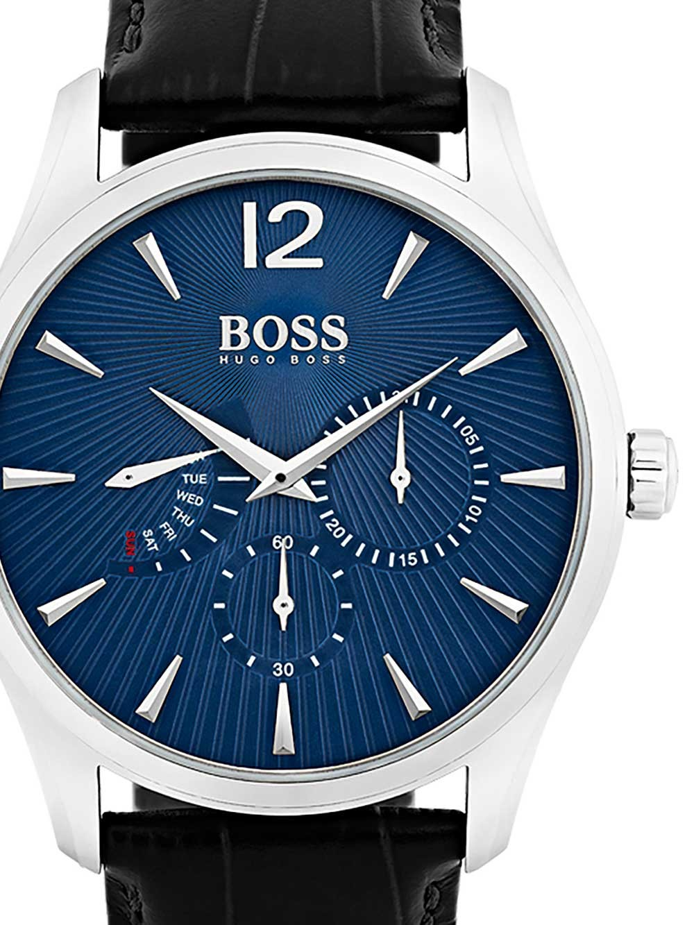 ceas barbatesc hugo boss 1513489 commander 41mm 3atm