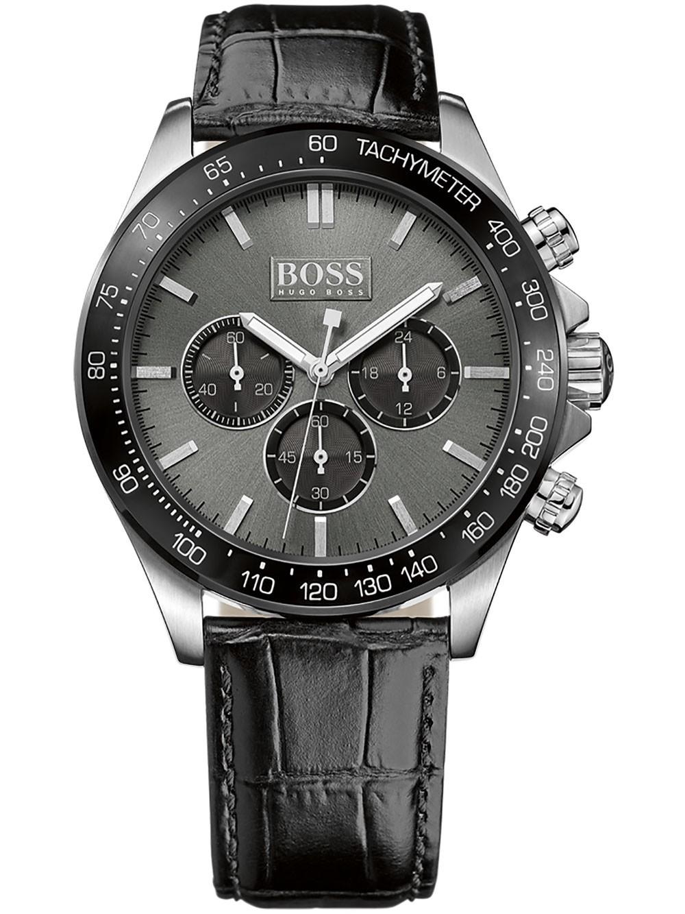 ceas barbatesc hugo boss 1513177 ikon chrono 44mm 10atm