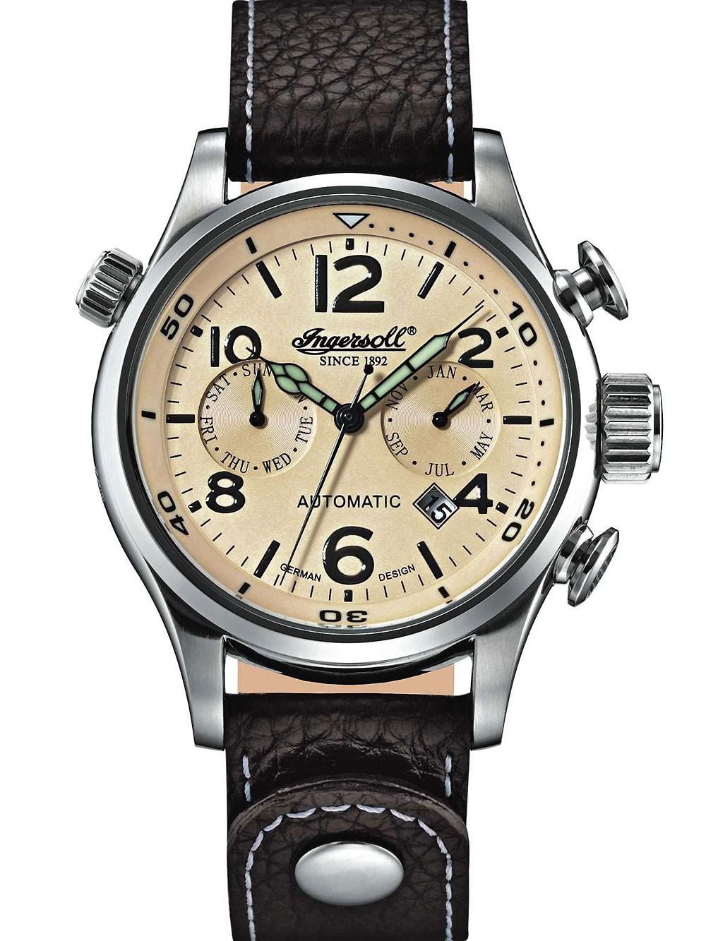 Watches Chrono12 Ingersoll Herrenuhr Bull Run In1809ch