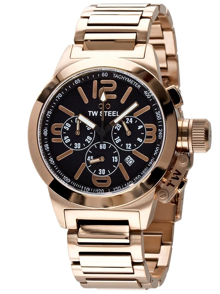watches chrono12 tw steel tw307 unisex chronograph zb