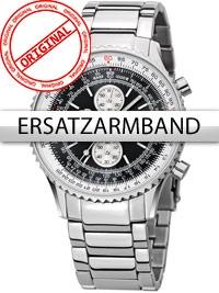 Curea de ceas Perigaum Edelstahl P-1310 Flightmaster silber