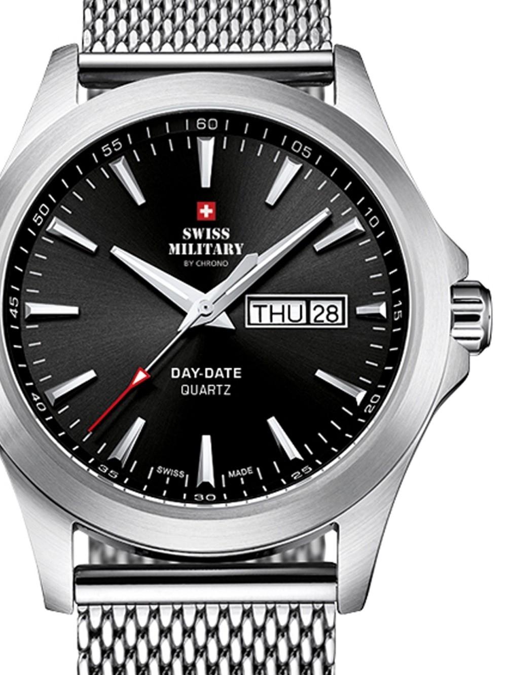 ceas barbatesc swiss military smp36040.01 42mm 5atm