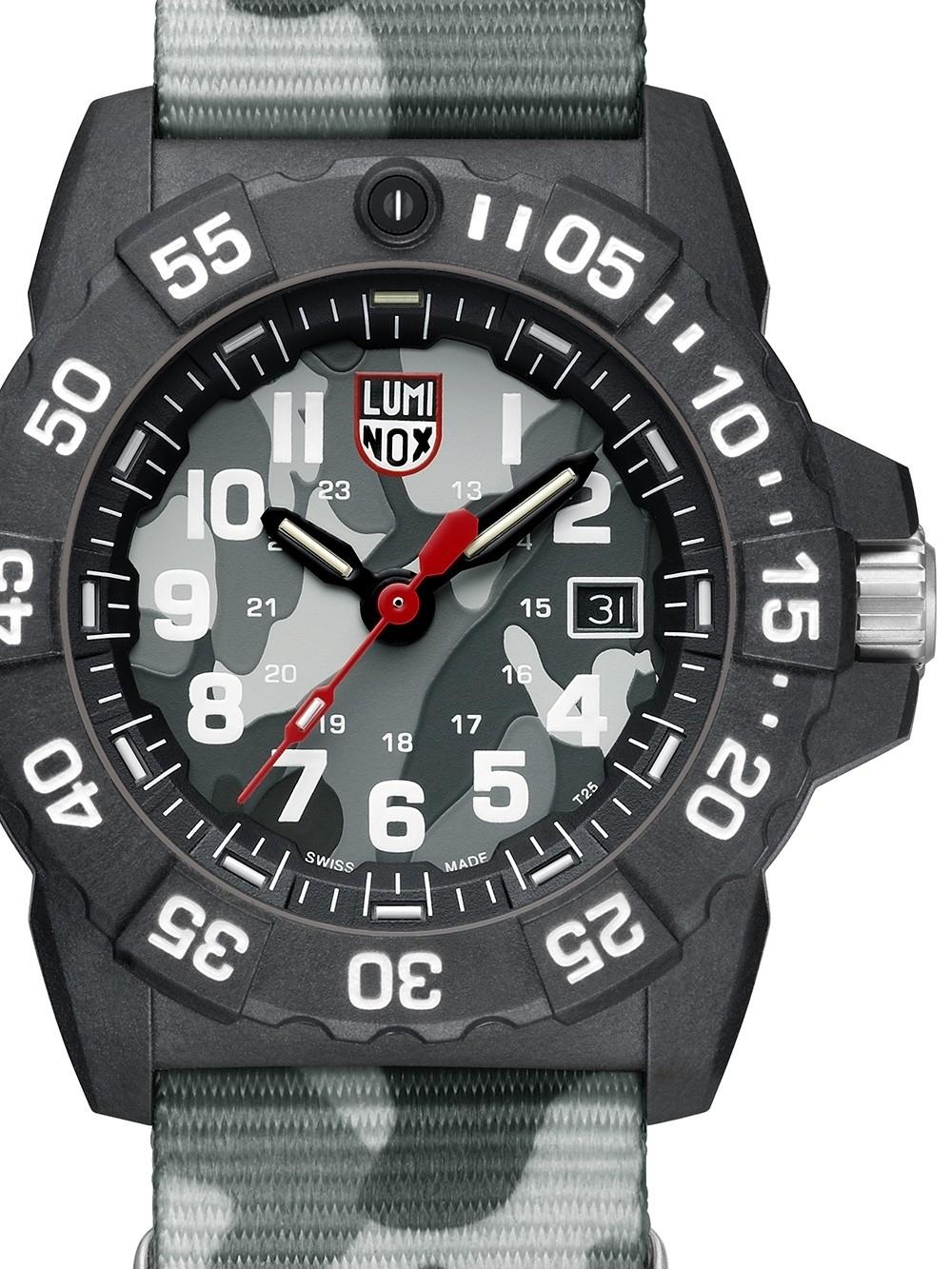 ceas barbatesc luminox xs.3507.ph navy seal 45mm 20atm