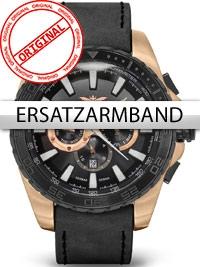 Curea de ceas Perigaum Legend P-1403-IRBK-BK