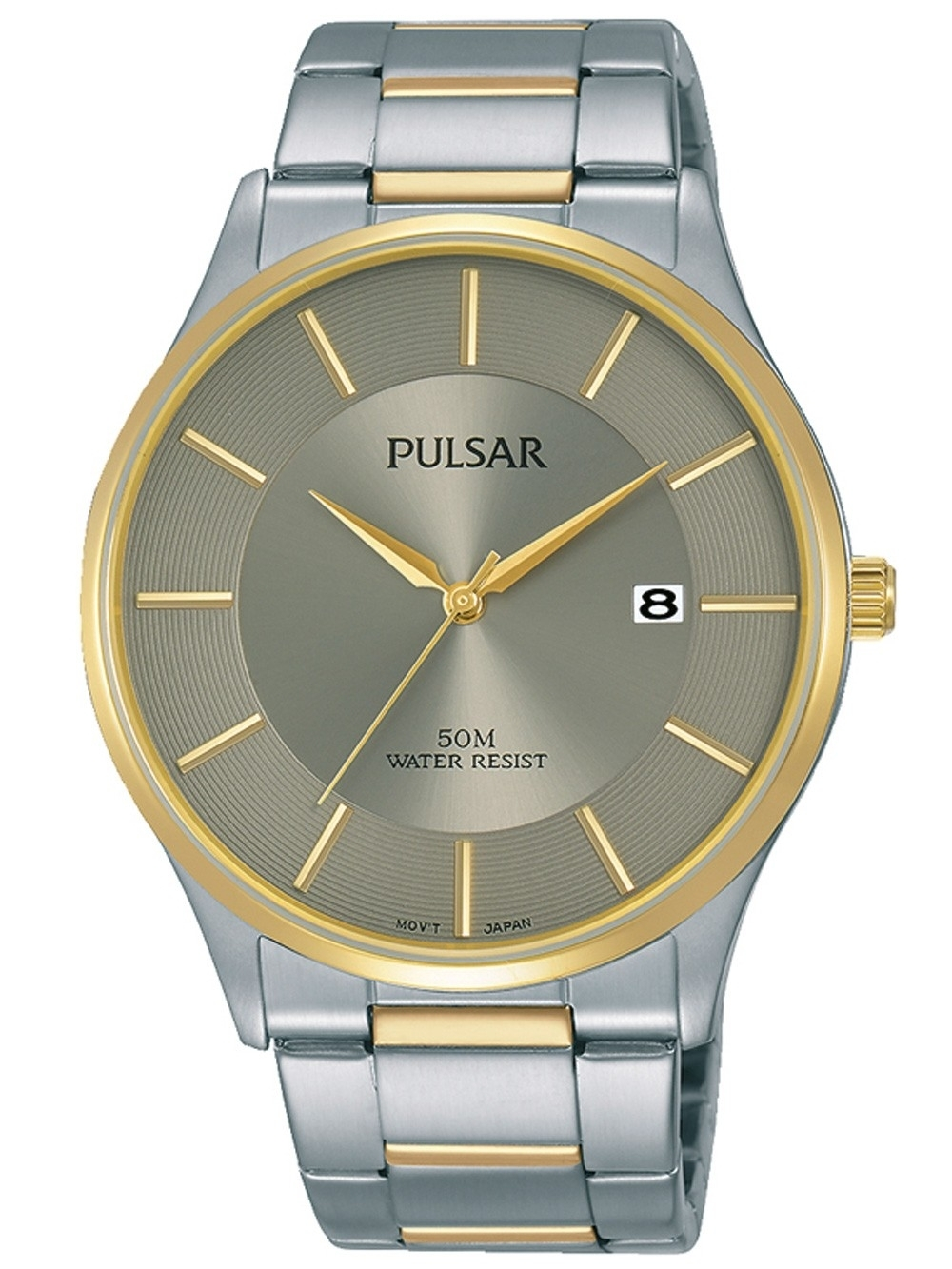 ceas barbatesc pulsar ps9544x1 klassik 41mm 5atm