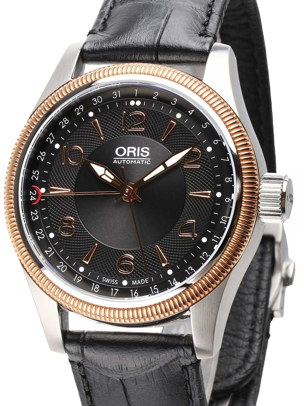 ceas barbatesc oris 0175476794334-0752076fc big-crown automatic 40mm 10atm