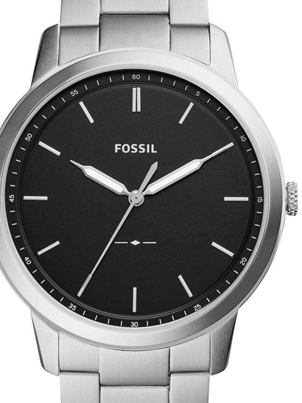 ceas barbatesc fossil fs5451set the minimalist set 44mm 5atm