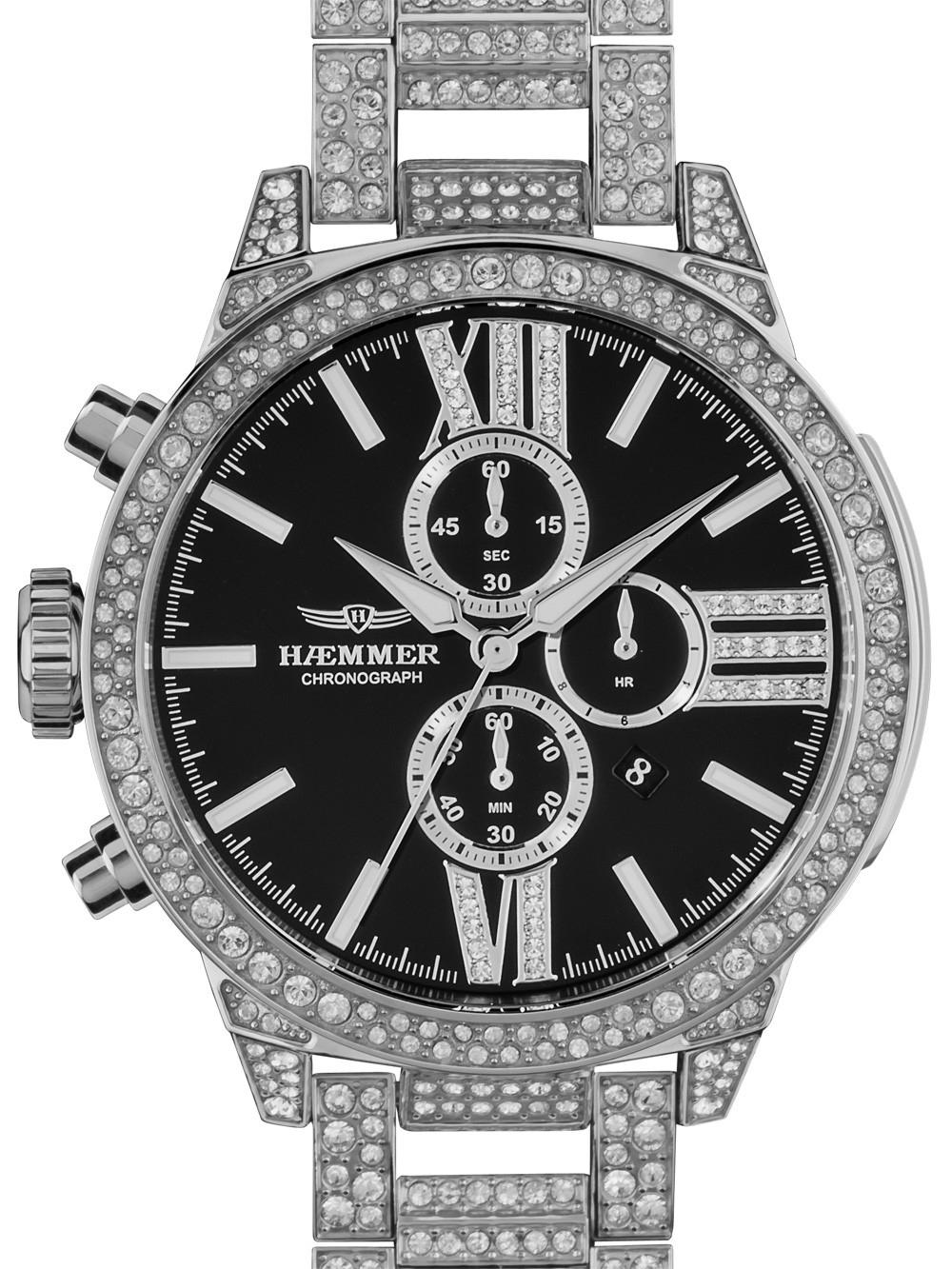 ceas de dama haemmer u-100 unique chrono 45mm 10atm
