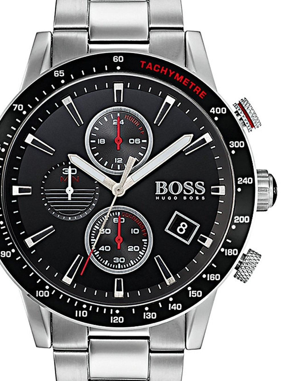 ceas barbatesc hugo boss 1513509 rafale chrono. 45mm 5atm