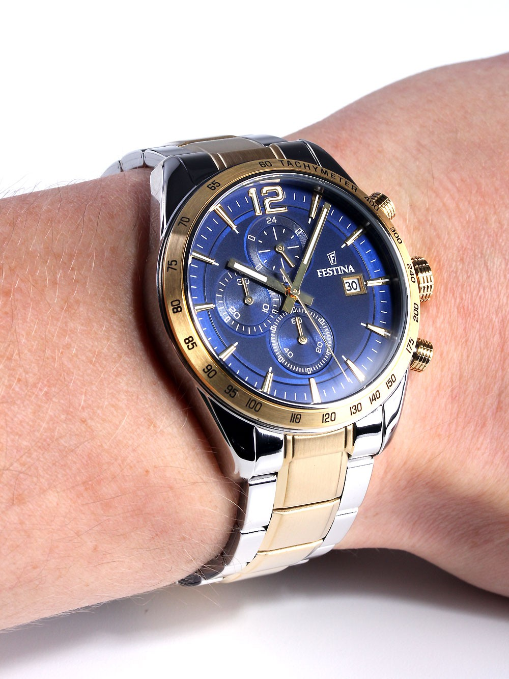 watches chrono12 festina f16761 2 herren chronograph 5. Black Bedroom Furniture Sets. Home Design Ideas