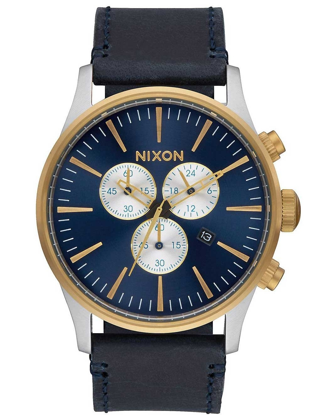 ceas barbatesc nixon a405-1922 sentry chrono 42mm 10atm