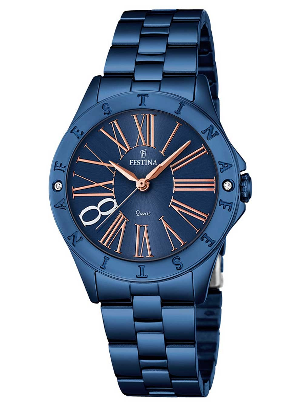 ceas de dama festina f16927/2 boyfriend 33mm 5atm