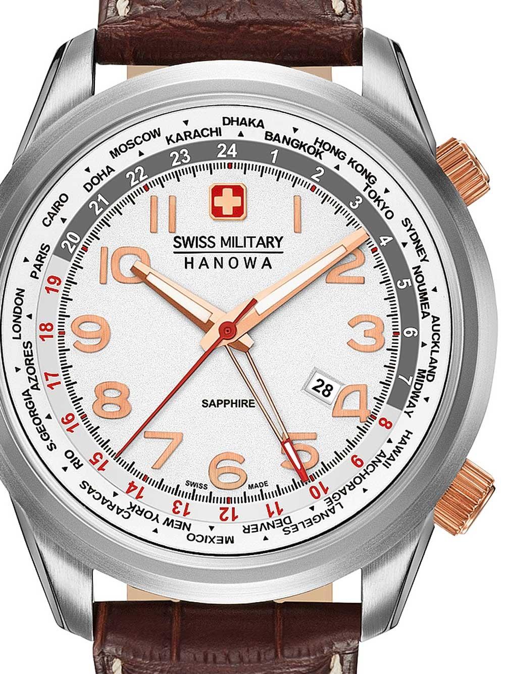 ceas barbatesc swiss military hanowa 06-4293.04.001 44mm 5atm
