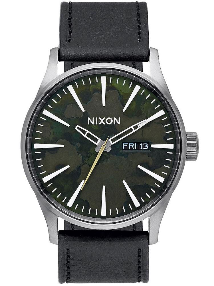 ceas barbatesc nixon a105-2069 sentry 42mm 10atm