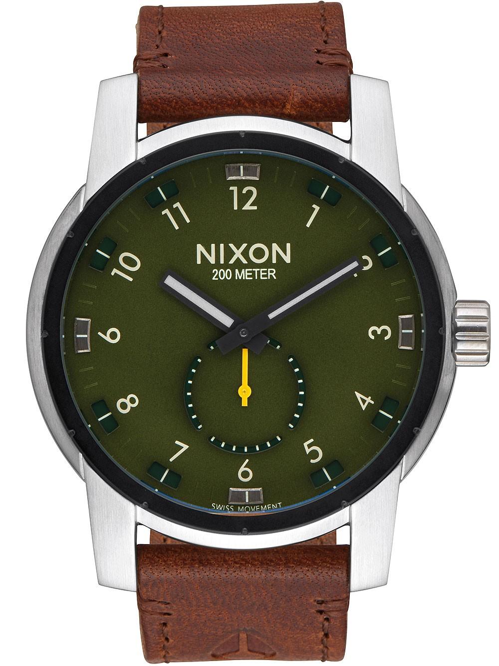 ceas barbatesc nixon a938-2334 patriot 45mm20atm