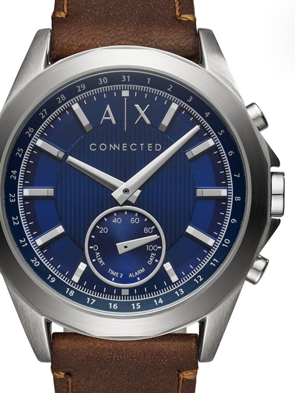 ceas barbatesc armani exchange axt1010 hybrid smartwatch 44mm 5atm