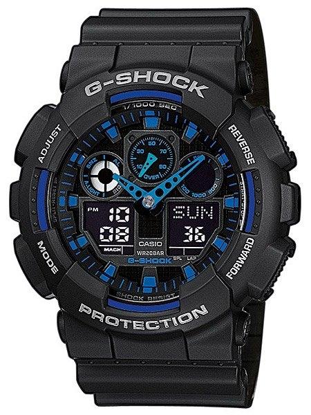 watches chrono12 casio herrenuhr g shock ga 100 1a2er. Black Bedroom Furniture Sets. Home Design Ideas