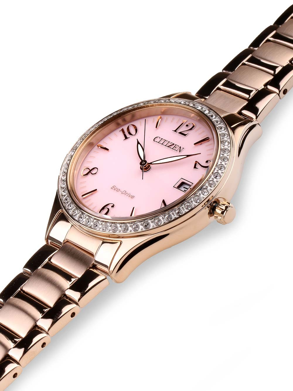 watches chrono12 citizen eo1183 84x eco drive elegant damen 34mm 5atm. Black Bedroom Furniture Sets. Home Design Ideas