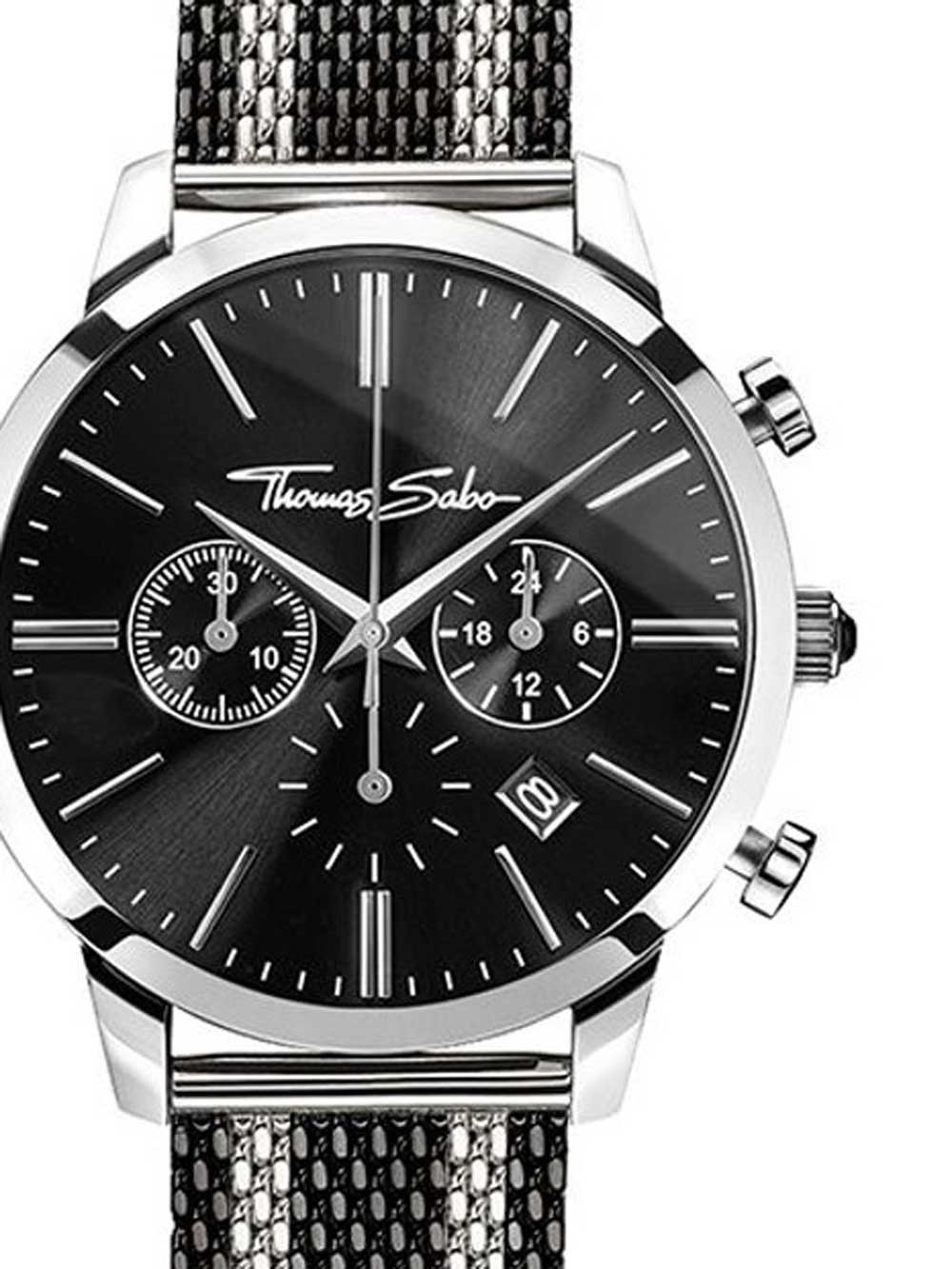 ceas barbati thomas sabo wa0284-280-203 rebel spirit chrono 42mm 5atm