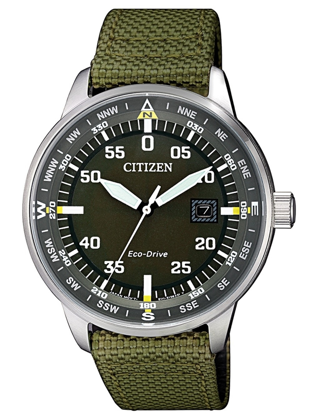ceas barbatesc citizen bm7390-22x eco-drive 42mm 10atm