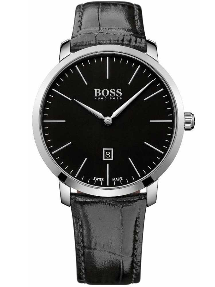 ceas barbatesc hugo boss 1513258 swiss-made 42mm 3atm saphir