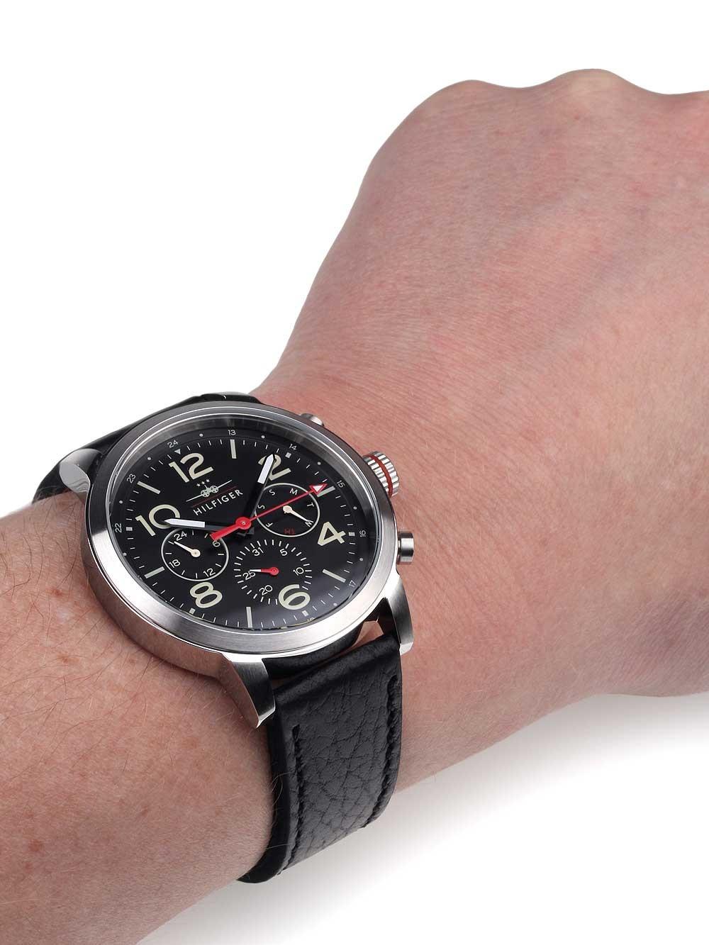watches chrono12 tommy hilfiger 1791232 herrenuhr. Black Bedroom Furniture Sets. Home Design Ideas