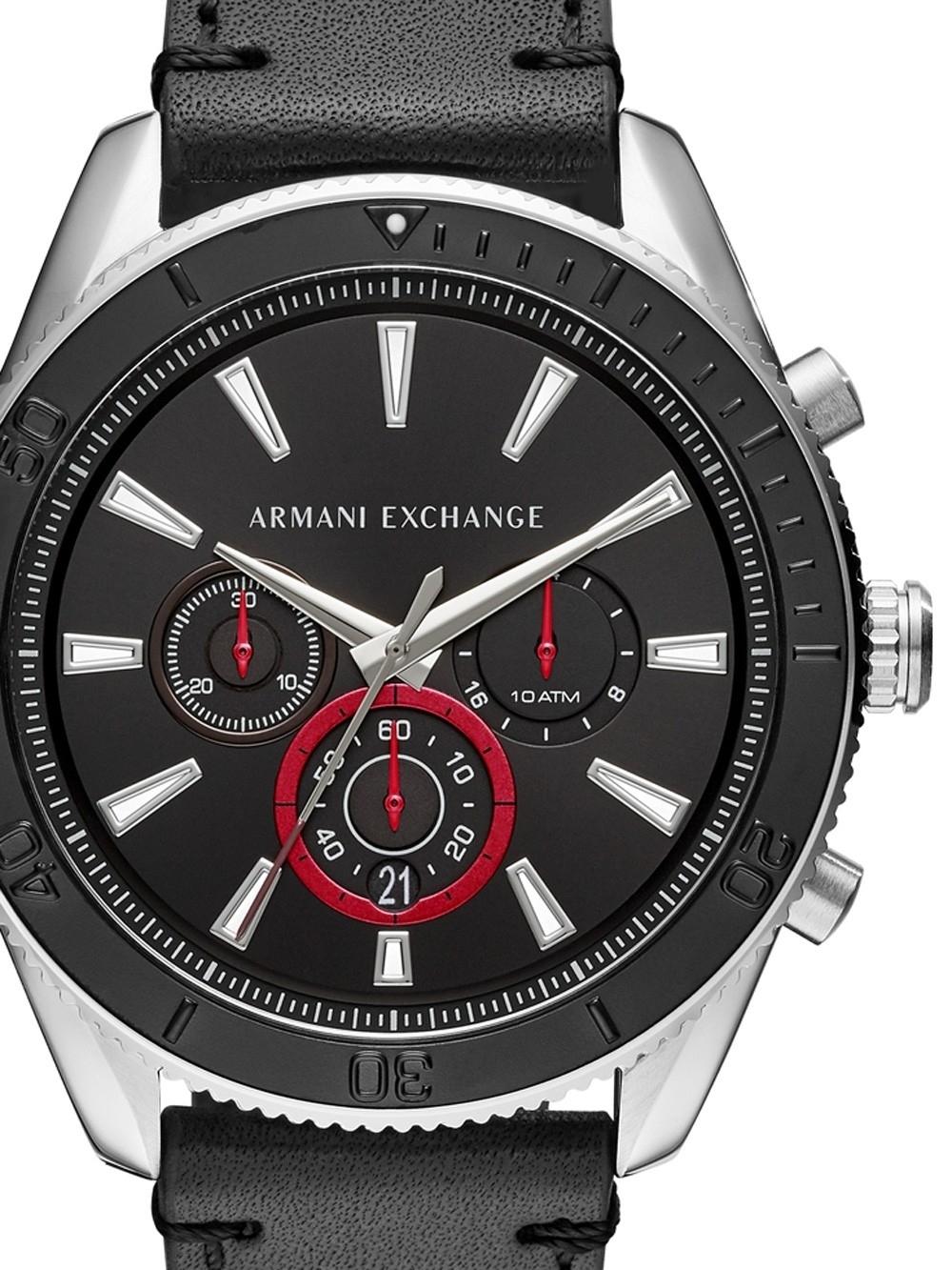 ceas barbatesc armani exchange ax1817 enzo chrono. 45mm 10atm