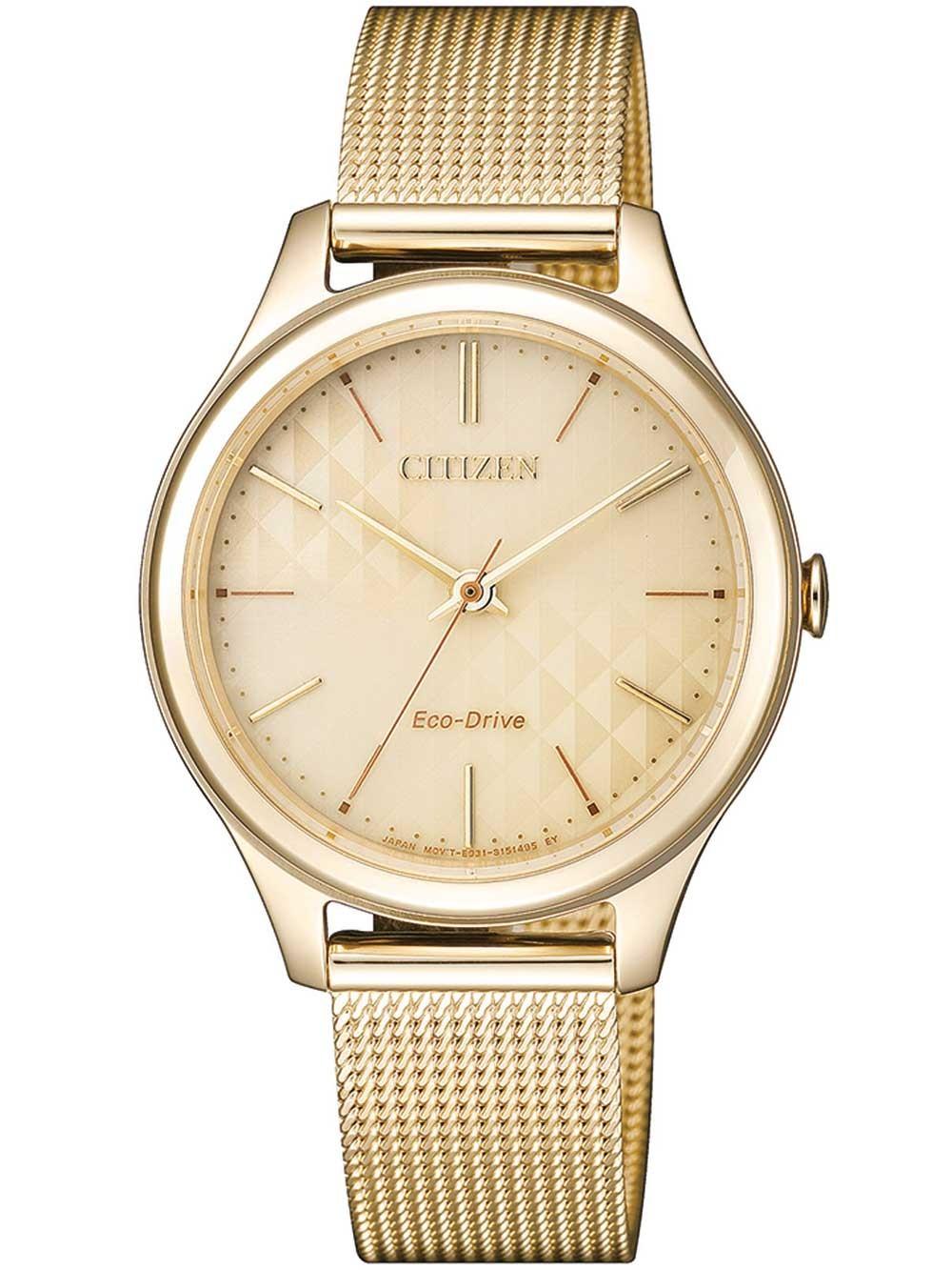 ceas de dama citizen em0502-86p eco-drive elegant 32mm 5atm