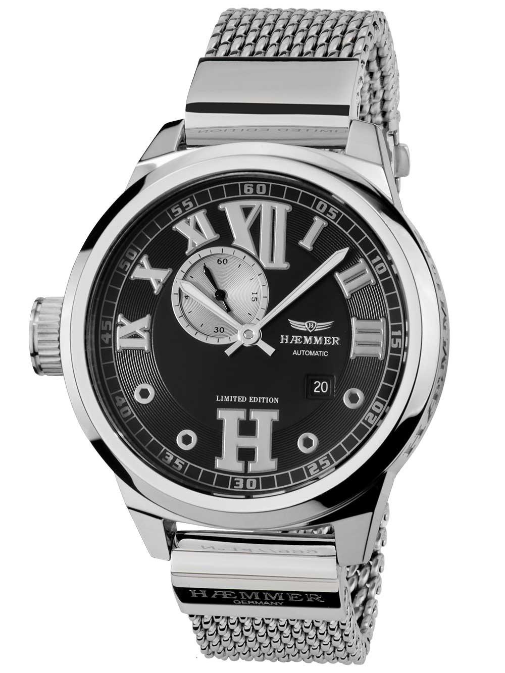 ceas de dama haemmer na-01-m julia automat 45mm 20atm