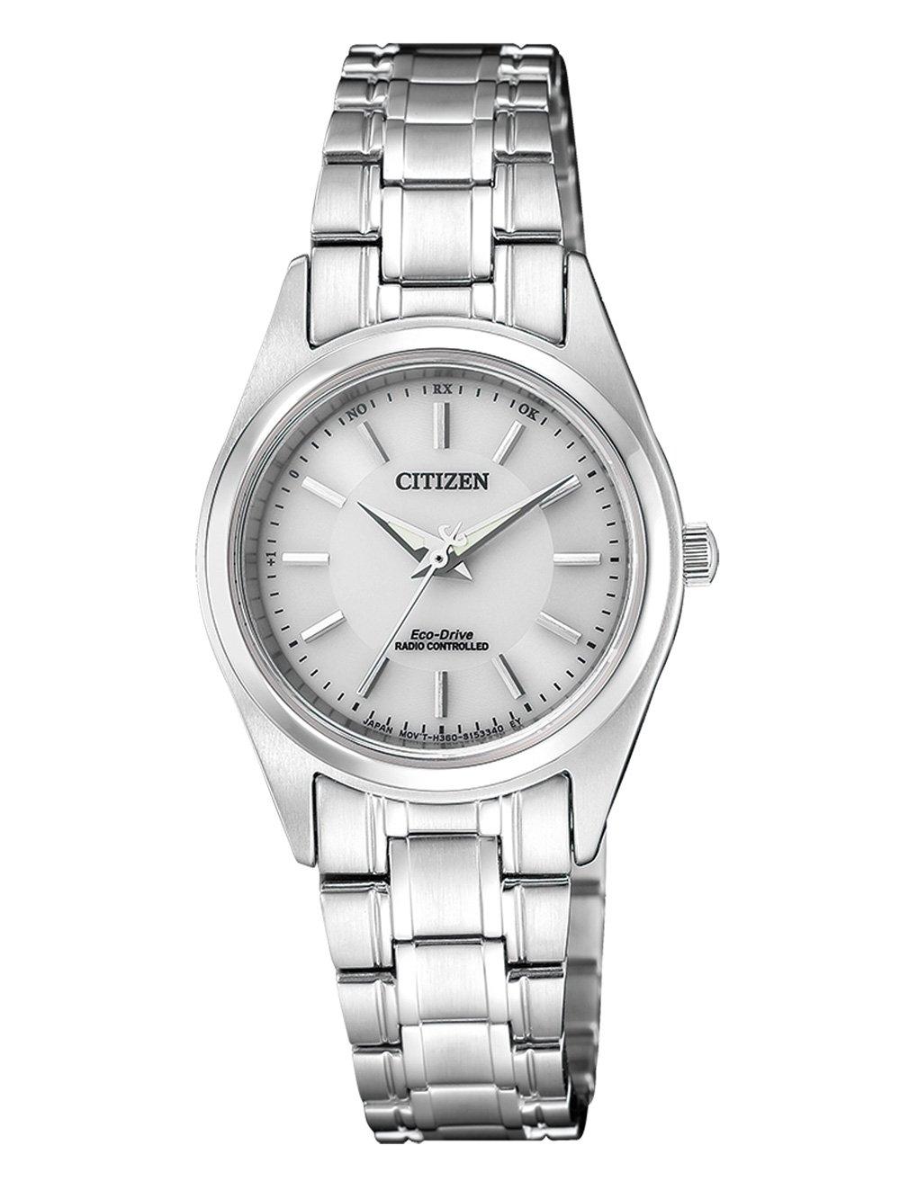 ceas de dama citizen es4030-84a eco-drive radio controlat 27mm 10atm