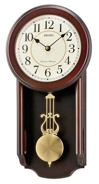 ceas de perete seiko qxh063b clasic cu pendul