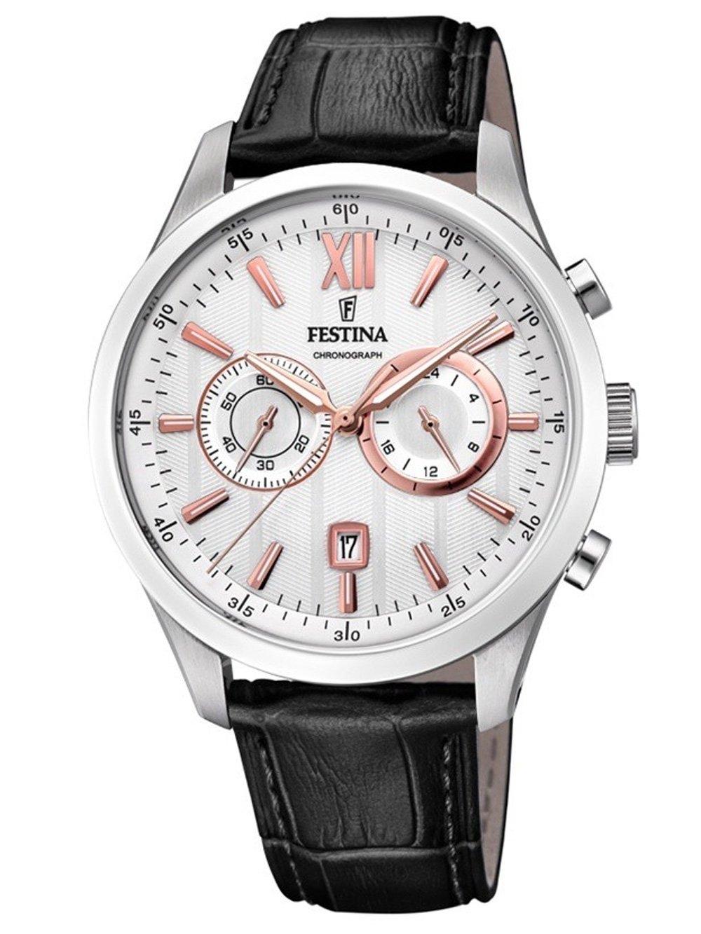 ceas barbatesc festina f16996/1 sport chrono 44mm 5atm