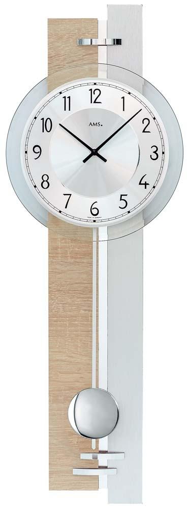 ceas de perete ams 7441 - serie: ams design