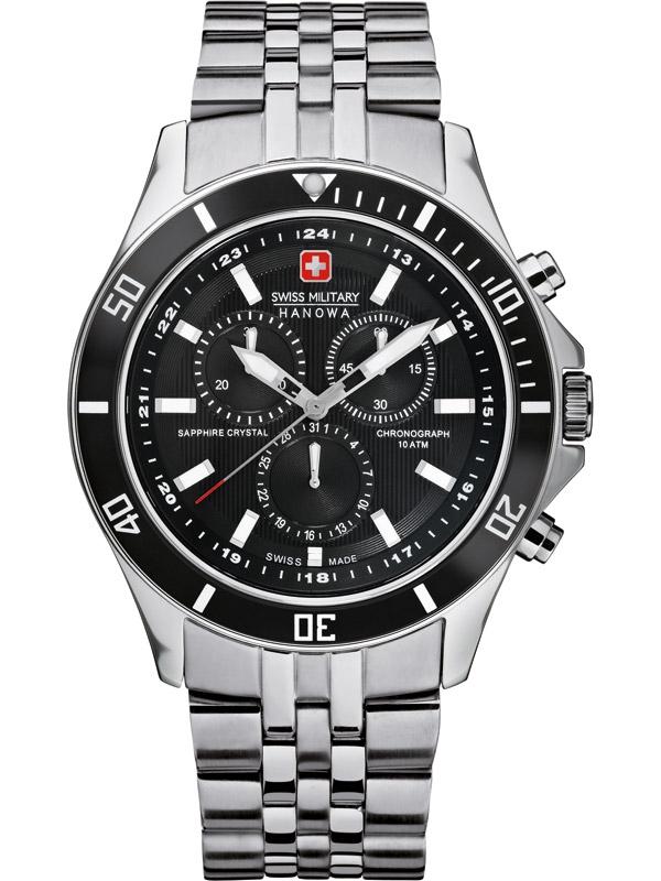 ceas barbatesc swiss military hanowa flagship chrono 06-5183.04.007