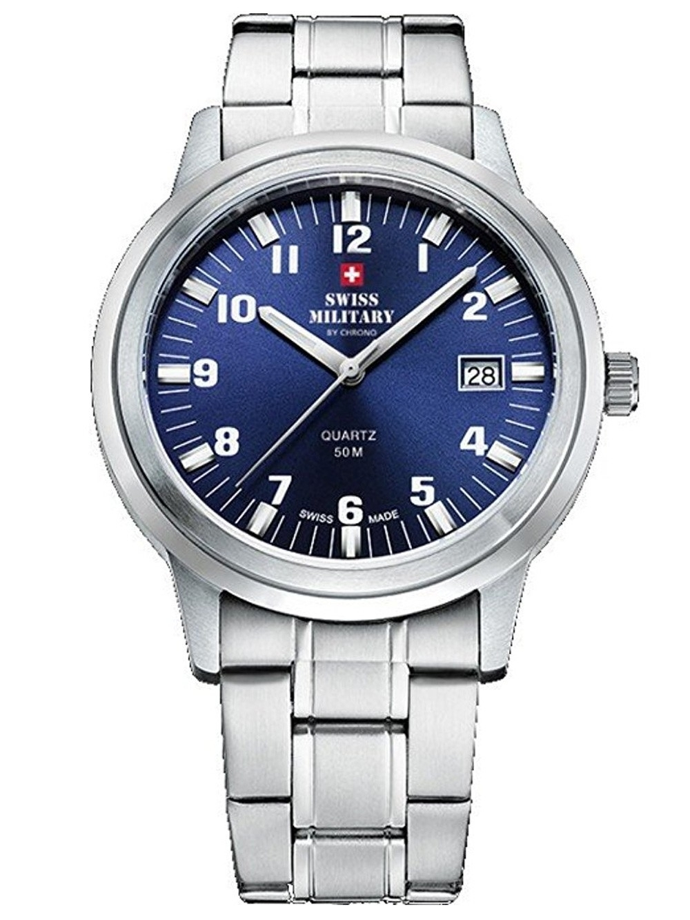 Watches chrono12 swiss military herren 40mm 5atm for Watches 40mm