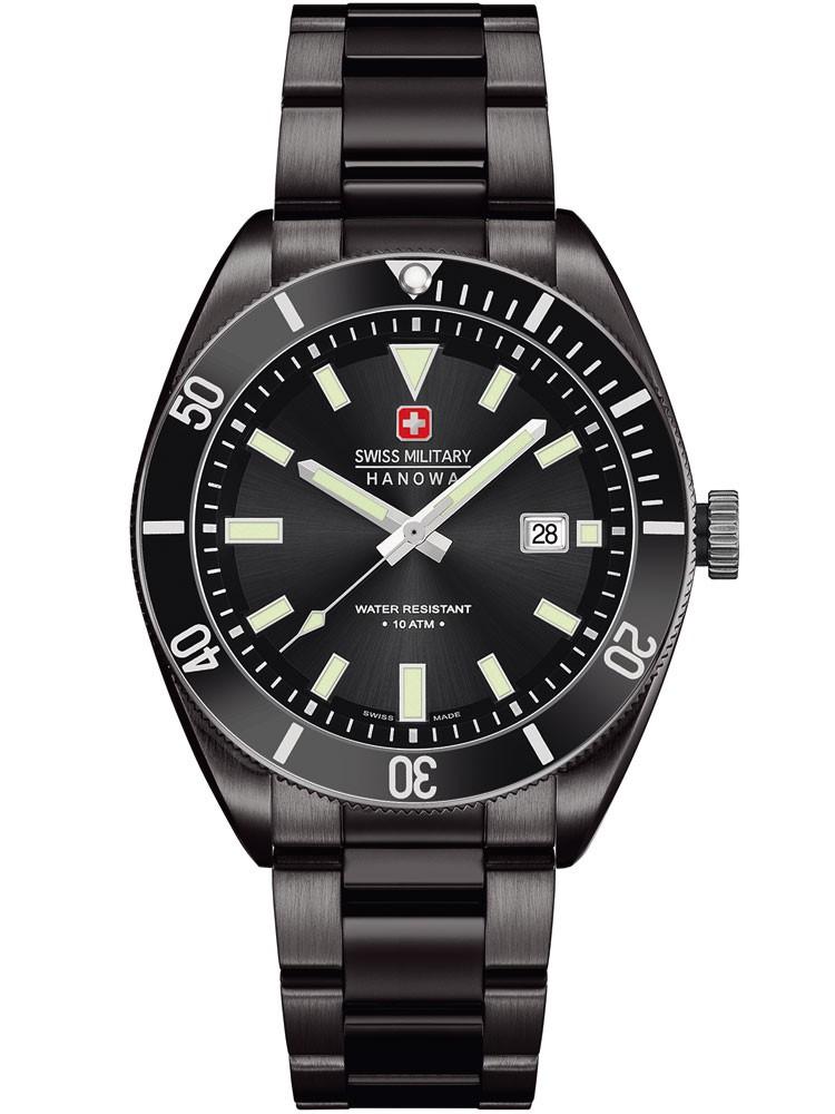 ceas barbatesc swiss military hanowa skipper 06-5214.13.007 42 mm