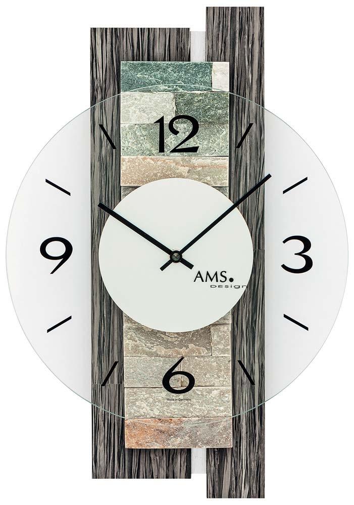 ams 9544 wanduhr modern - serie: ams design