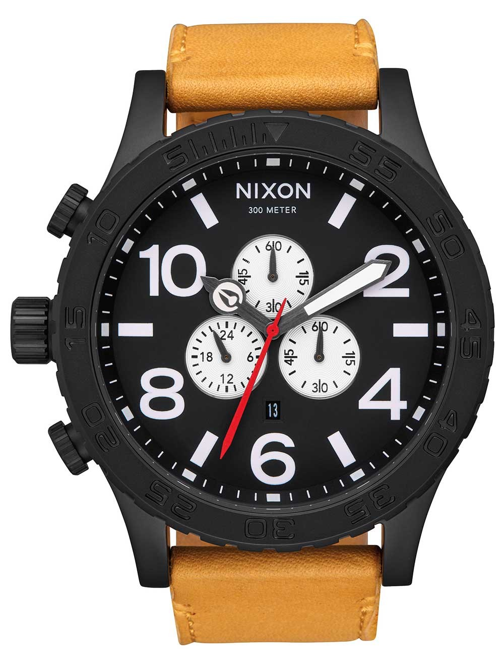 ceas barbatesc nixon a124-2448 51-30 chrono 51mm 30atm