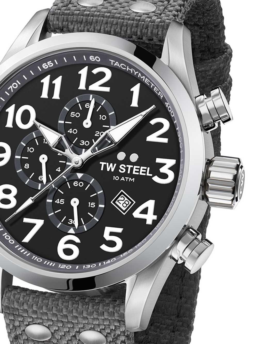 ceas barbati tw-steel vs13 volante chrono 45mm 10atm